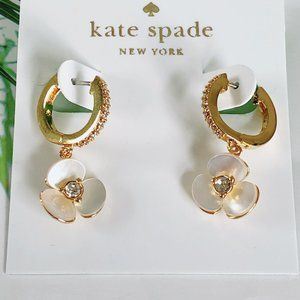 Kate Spade Metal Earrings Floral Breaker Earrings